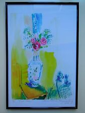 Limited Edition Prints of Original Watercolor Rose Paintings by Claire Fergusson