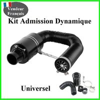 Kit admission Filtre A Air Sport Lavable,Carbone Type K&N, Green, Pipercross,Bmc