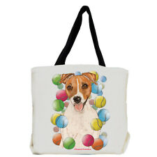 Jack Russell Terrier Tennis Dog Tote Bag