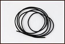 Lederband Leder Schnur 2 mm schwarz 10 m rund