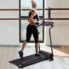 1Hp Electric Treadmill Folding Running Machine Motorized Power Fitness