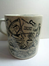 VINTAGE STAFFORDSHIRE  CUP GOD SPEED THE PLOUGH (ref55.8)
