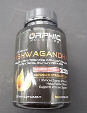 Orphic Nutrition Ashwagandha, Maximum Potency Dietary Supplement, 90 Capsules