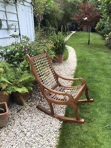 Mid Century Rocking Chair