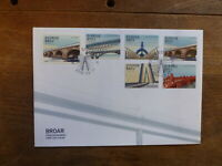 SWEDEN 2016 BRIDGES SET 6 STAMPS FDC FIRST DAY COVER