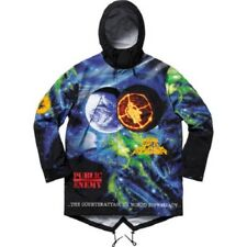 Supreme Undercover Public Enemy Multi-Color Tape Seam Parka Sz L