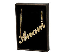 """Name Necklace """"ANAM"""" - 18ct Gold Plated - Made With High Quality - Stylish"""
