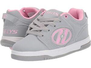 NIB Heelys Voyager SKATE Women's SHOES Grey/Pink