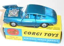 Original Corgi-332 Blue Lancia-Fulvia-Sport Zagato -MIB