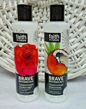 2x Faith in Nature Brave Botanicals Conditioner Rose & Neroli / Creamy Coconut