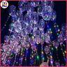 "18"" BoBo Bubble Clear Balloon LED Lights Wedding Decoration Large 20"" Bubble"