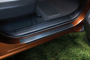 Genuine Toyota Door Sill Protectors for 2014 Toyota Tundra Crew Max-New, OEM