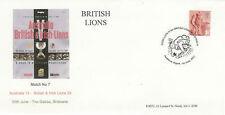 AUSTRALIA v BRITISH & IRISH LIONS 1st TEST 2001 RUGBY COMMEMORATIVE COVER