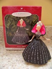 Hallmark 1998 Based on 1990 Happy Holidays Barbie Club Series Christmas Ornament