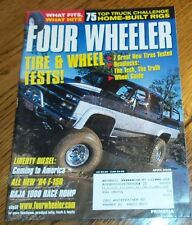 Four Wheeler April 2003 Liberty Diesel, F-150, Home-Built Rigs, New Tires Tested