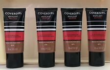 4 COVERGIRL OUTLAST ACTIVE  24 HR FOUNDATION Oxtinoxate Sunscreen 875 Soft Sable