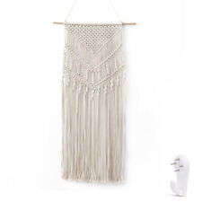 Woven Hanging Ornament Bohemian Macrame Wall Decoration Tapestry for Bedroom