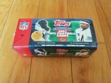 2001 Topps Factory Sealed Complete Football Set