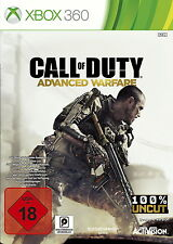 Xbox 360 Call of Duty: Advanced Warfare NEU/OVP i Folie Microsoft 100% UNCUT CoD
