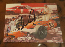 Donnie  Allison NASCAR racing legend signed autographed oversized card