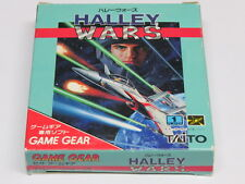 Halley Wars Game Gear Japan Top Shooter! * VGC ? * Quality Shipping