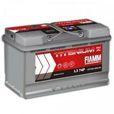 Batteria avviamento per auto 74Ah 680EN 12V positivo A DX Fiamm
