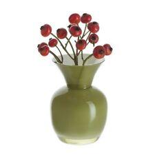 More details for dartington - little treasures olive & white vase