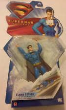 "Superman Returns 5"" DC Superman FLYING ATTACK  Action Figure Mattel NEW 2006"