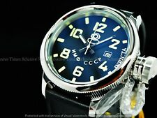 Invicta Men's 52mm Russian Diver CCCP Automatic Luminous Leather Strap SS Watch