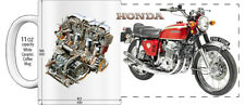 "HONDA 750cc CB750 FOUR EARLY MODEL MOTORCYCLE ""HIGH DETAILED"" IMAGE COFFEE MUG"