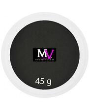 Powder  Acrylic Black Professional Mevinails 45 grams  -  Porcelna nails