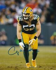 CLAY MATTHEWS SIGNED AUTOGRAPH 8X10 PHOTO GREEN BAY PACKERS