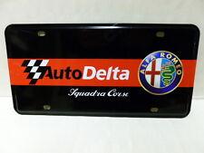 auto delta alfa romeo  targa di latta  CM 15 PER 30
