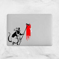 Banksy Rata de pintura Calcomanía Adhesivo Vinilo Laptop para Macbook Pro Mac Pro Portátil 13