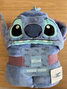 Primark Disney Lilo STITCH Fleece Blanket Throw Hooded Cosy Wrap Poncho