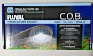 Fluval Fresh and Salt Water LED, for Nano and DeskTop Aquariums, C.O.B.