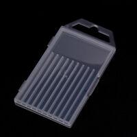 1pc plastic transparent drill bit storage box collection container case FO