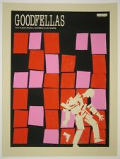 GOODFELLAS MOVIE POSTER BY METHANE STUDIOS LIMITED EDITION SILKSCREEN PRINT