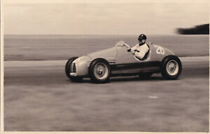 SIMCA-GORDINI DAILY EXPRESS TROPHY MEETING SILVERSTONE MAY 1952 PHOTO.