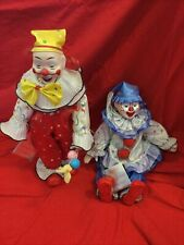The Heritage Mint Ltd Collection 2 Doll Clowns