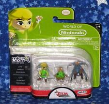 New The Legend of Zelda Wind Waker Micro Land World of Nintendo Figure 3 Pack