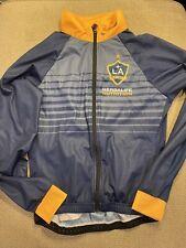 Men's Jakroo LA Los Angeles Galaxy Herbalife Cycling Bike Jacket Medium M Blue