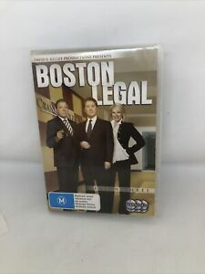 Boston Legal : Season 3 DVD REGION 4 Very Good Condition TV Show