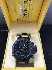NEW Invicta Men's 10185 Subaqua Noma III Chronograph Black Dial Watch