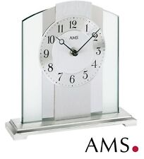 AMS Horloge de table 38 quartz élégante bureau Montre Watch pendulette 993