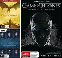 Game Of Thrones SEASON 5, 6 & 7 : NEW DVD