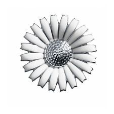 Georg Jensen Sterling Silver DAISY Pendant / Brooch 43mm