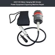 Motor Hanging Mill Grinder Power Equipment Engraving Machine Repair 220/110V New