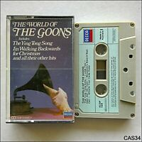 The World Of The Goons Tape Cassette (C34)
