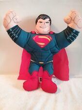 "DC Comics Talking Plush Hero Buddies Superman Mattel 2012 Man of Steel 15"""